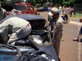 Acidente no Jardim Guanabara deixa motoristas feridos