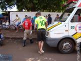Acidente na Av. Joaquim Murtinho próximo ao Leiliani