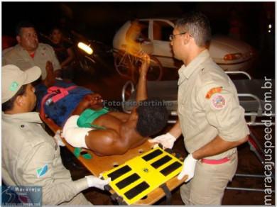 Rapaz é baleado com três tiros na Vila Adrien