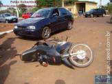 Motoristas sem CNH se envolvem acidentes na Avenida Marechal Floriano em Maracaju