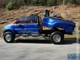 Super caminhonetes, um verdadeiro espetáculo de carro....