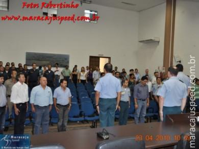 Major Major Messias Lima de Mesquita assumiu ontem em ato oficial o comando da 2ª CIPM