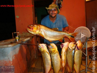 Pescadores de Maracaju, quem vê acredita......