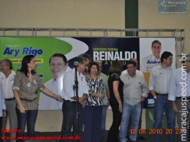 Lançamento da candidatura para Deputado Federal do Reinaldo Azambuja e para Deputado Estadual do Ary