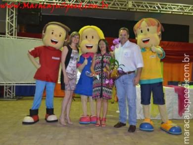 """Alunos e professores de Maracaju premiados no """"Programa Agrinho"""" recebem homenagens"""