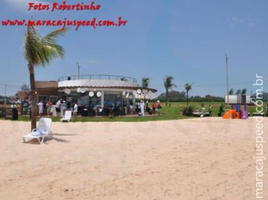 Inauguração do condomínio Blue Lagoon - Pedro Juan Caballero/PY