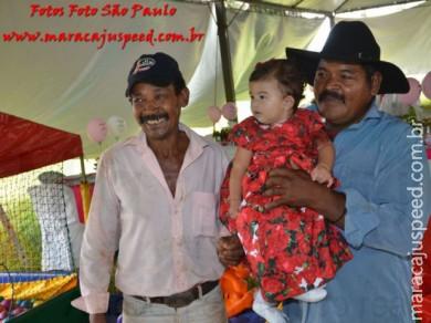 Aniversário de Luiza Corrêa - 1 ano de idade, filha de Luiz Henrique e Myami