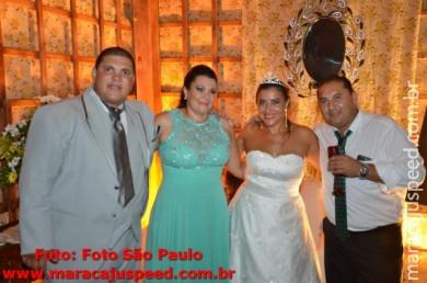 Casamento de Roberto Aparecido Borges e Celeide de Jesus Oliveira Borges - AABB 23/04/2016