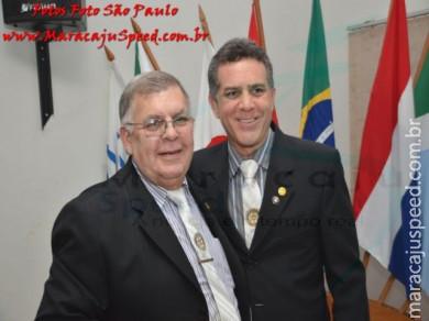Solenidade de posse do novo presidente do Rotary Club e da Casa da Amizade de Maracaju - 2016