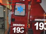 Maracaju: Homem é atropelado e vai a óbito após dar entrada no Pronto Socorro