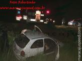 Maracaju: Condutor perde controle de veículo e sai da pista MS-162