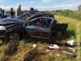 Quatro pessoas são executadas a tiros por pistoleiros na Rodovia MS-164 que liga a Maracaju