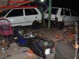 Maracaju: Aeronave descontrolada cai e destrói residência, um veículo e uma motocicleta