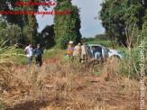 Maracaju: Capotamento no Mini Anel deixa vítima com fratura