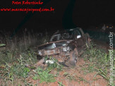 Maracaju: Colisão frontal entre caminhonete e veículo de passeio na BR-267
