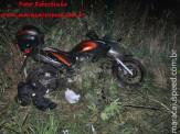 Maracaju: Bombeiros são acionados para atender acidente de queda de moto na BR-267 e prendem vítima/traficante com 28 kg de maconha