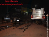Maracaju: Proprietário de veículo transtornado tenta explodir seu próprio veículo na Rua Joaquim Murtinho