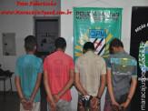 Maracaju: PM apreende quatro adolescentes por roubo e recupera objetos roubados da vítima
