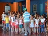 Maracaju: Crianças do Projeto Mirim comemoram seu dia com muita música e peças teatrais