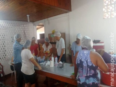 Parceria entre a Prefeitura Municipal de Maracaju e o Senar/Sindicato Rural traz cursos de Produção Artesanal de Embutidos e Defumados