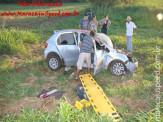 Maracaju: Colisão frontal entre veículo e ônibus de turistas na MS-162 próximo ao aterro sanitário resulta em uma vítima fatal