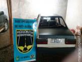 Maracaju: PRE BOP Vista Alegre apreende mais de 15 kg de maconha em veículo que empreendeu fuga