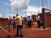 Maracaju: Deputado visita obra, e garante Clinica da Mulher