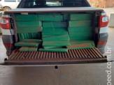 Maracaju: PRE BOP Vista Alegre apreende mais de 600 kg de maconha em pick-up strada