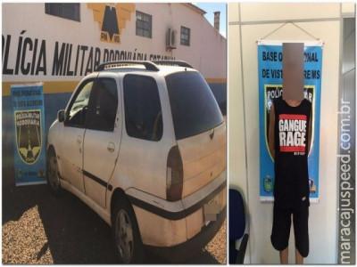 Maracaju: PRE BOP Vista Alegre cumpre mandado de prisão em aberto e apreende cerca de 15 mil reais sem origem lícita
