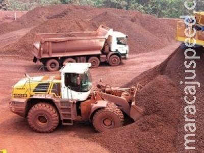 Queda na exportação do minério de ferro gera deficit de U$ 1 bi em Corumbá