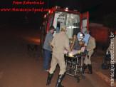 Maracaju: Bombeiros atendem ocorrência em que vítima foi esfaqueado na coluna cervical