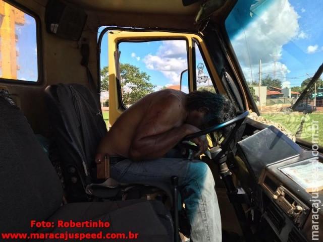 Maracaju: Homem acaba de ser assassinado por disparo de arma de fogo na BR-267 em frente à Boa Vista