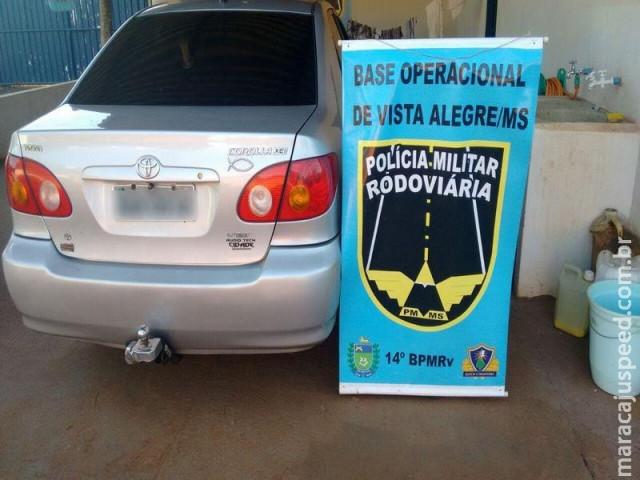 Maracaju: PRE Base de Vista Alegre apreende pistola, revólver e munições na MS-164 com casal maracajuense