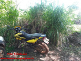 Maracaju: Três menores e uma jovem foram apreendidos após perseguição com moto roubada e três pés de maconha são encontrados em residência