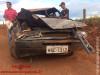 Maracaju: Veículo capota na estrada que dá acesso à Fundação MS e bebê é arremessado para fora de veículo e fica em estado grave
