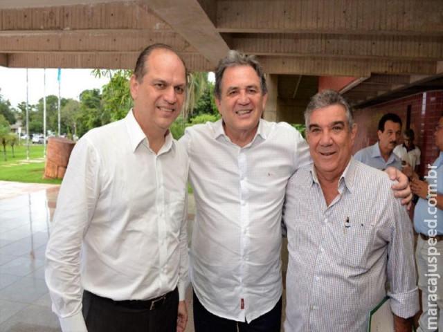 Prefeito Maurílio entrega para Ministro da Saúde relatório de investimentos em Maracaju