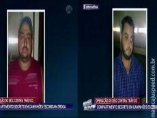 Maracajuenses são presos no estado de São Paulo com mais de 400 kg de pasta base de cocaína