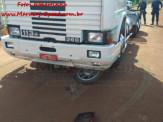 Maracaju: Colisão de carreta com motocicleta deixa motociclista com fratura de bacia