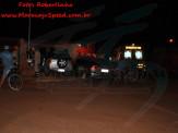 Maracaju: Colisão entre veículos na Vila Juquita, resulta em destruição de muro de residência