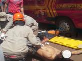 Maracaju: Homem é esfaqueado por ex-cunhado e tem perna gravemente ferida