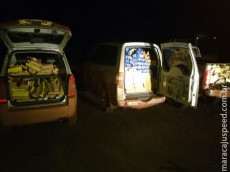 DOF apreende quase quatro toneladas de maconha na fronteira com o Paraguai
