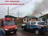 Maracaju: Casa é destruída em incêndio criminoso ocorrido no Conjunto Olídia Rocha