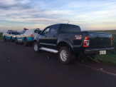 Maracaju: PRE BOP Vista Alegre recupera caminhonete Hilux roubada na capital Campo Grande