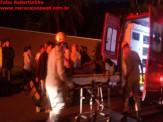 Maracaju: Colisão frontal entre carro e moto na Rua Campo Grande
