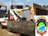 Polícia Civil de Maracaju recupera móveis e eletrodomésticos furtados e prende ladrão
