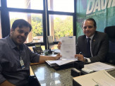 Vereador Robert Ziemann busca melhorias para Segurança Pública de Maracaju
