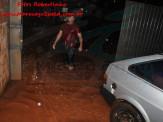 Bombeiros de Maracaju tiveram noite de intenso trabalho devido a temporal