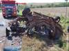 Maracaju: Colisão frontal envolve dois veículos e uma motocicleta e deixa três vítimas fatais presas em meio as ferragens