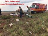 Maracaju: PRE BOP Vista Alegre e Corpo de Bombeiros atendem acidente de capotamento na MS-164