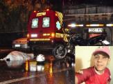 Motociclista morre após colidir contra traseira de carreta parada